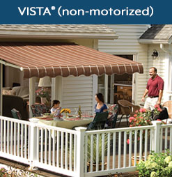 VISTA Manual Awning
