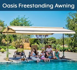 Oasis Freestanding Awnings